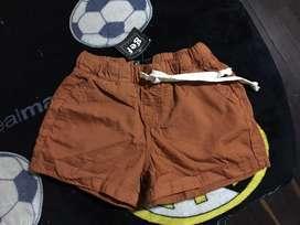 Short pantaloneta para niña