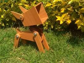 Lámpara con forma de perrito