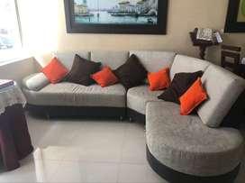 Vendo sofa en L