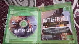 Battlefield 1 XBOX ONE Físico Promoción negociable
