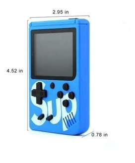 Mini consola game box sup 400 en 1 recargable +control