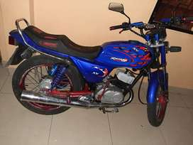 Vendo moto ax 100 zusuki