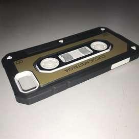 funda retro rígida iphone 7 reforzada
