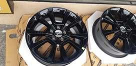 4 Aros Nuevos R18 Originales Dodge, Hyundai, Ford,Toyota 5h 114mm Magnesio Ford Kia Hyndai