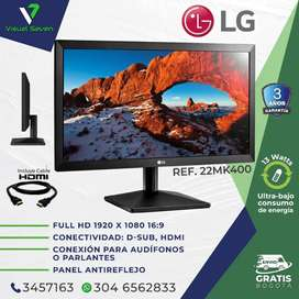 Monitor 22 LG / 75 Hz Nuevo