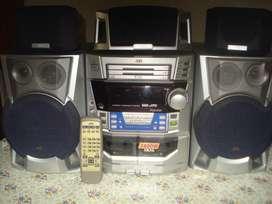 Minicomponente Jvc Mxj70 C/ctrl Rem Orig Excelente Sonido!!