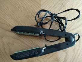 Oferta plancha para el  cabello BELSONPRO + Secador