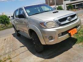 Vendo Toyota Hilux año 2008 en buenas condiciones