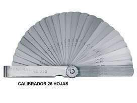 CALIBRADOR DE HOJAS