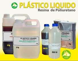 PLASTICO LIQUIDO, resina de poliuretano para piezas