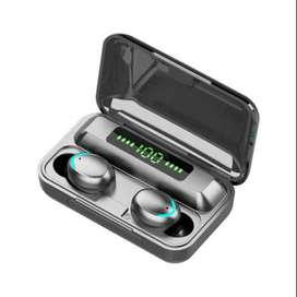 Audifonos Bluetooth Inalambricos Tactiles Led Power Bank