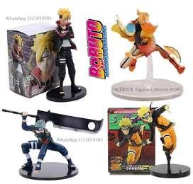 Figuras coleccionables Boruto y Naruto