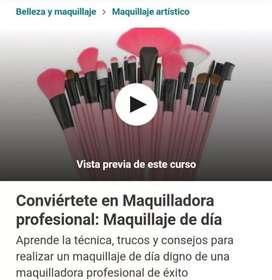 CONVIERTETE EN MAQUILLADORA PROFESIONAL- MAQUILLAJE DE DIA