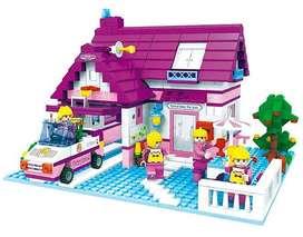 Juguete de armar tipo Lego