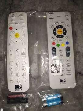 Control de DirecTV nuevos  incluyen pilas