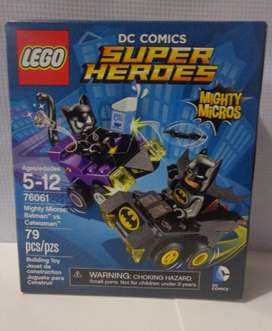 Batman Vs Cat Woman Lego Super Heroes Dc comics