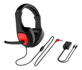 Diadema Gamer Headset Stereo X1 Plug Control Volumen Profesi
