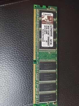 Memoria ram DDR1 512mb, pc de escritorio