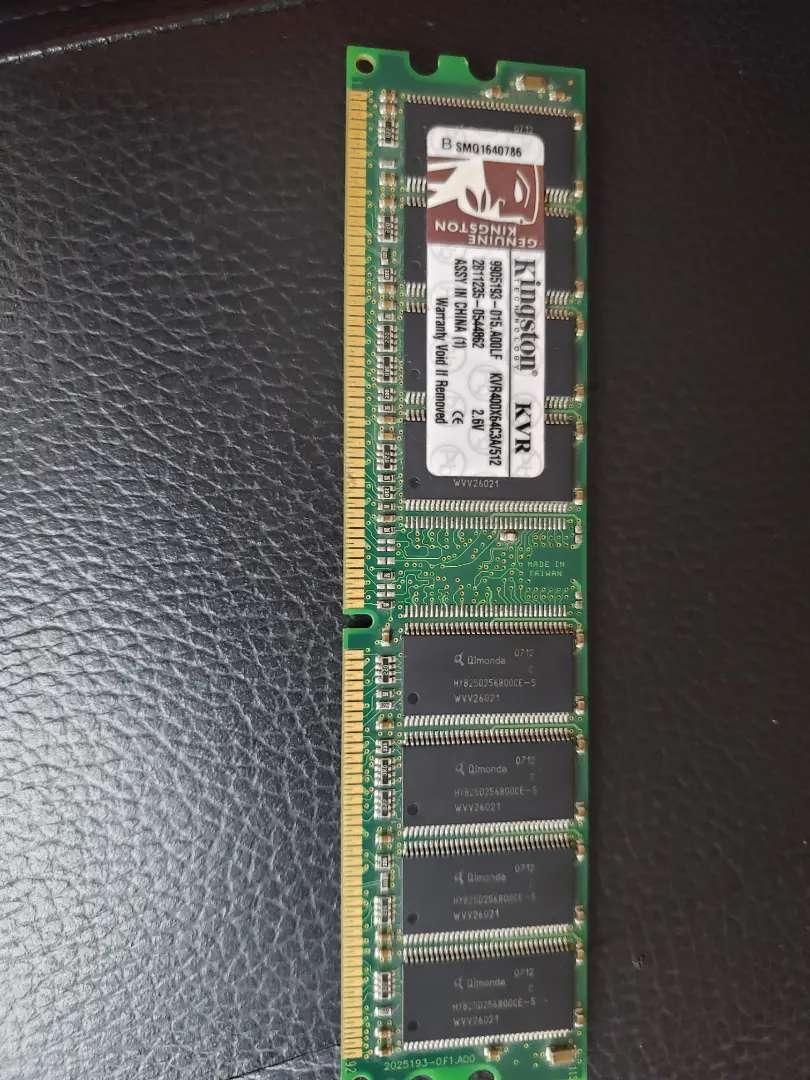 Memoria ram DDR1 512mb, pc de escritorio 0