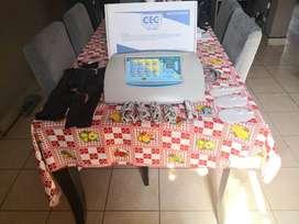 Electroestimulador Cec Combinado Con Iontoforesis Combi 4