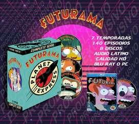 Futurama Serie Completa 1080p Latino