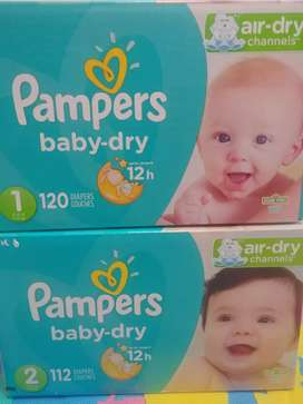 Pañales Pampers Baby-Dry