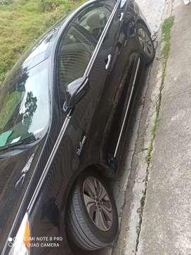 Hyundai Sonata hibrid 2015 color negro