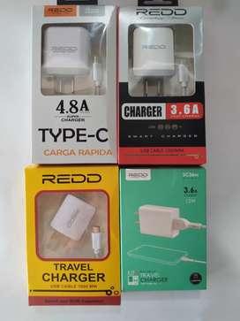 ACCESORIOS CABLES USB, CARGADORES
