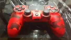 Joystick PS4 Rojo PIXELIADO Con el Joystick PlayStation para PS4,  $15.999,00