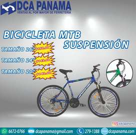 Bicicleta Mtb Suspension de 26 24 y de 20