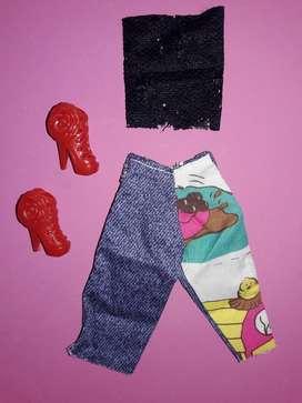 Ropa Y Zapatos para Barbie O Similar 1