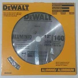 """Disco para cortar aluminio de 12""""con 100 dientes"""