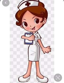 Se aplican inyecciones, medicamentos  y se cuidan pacientes en clinica o casa.