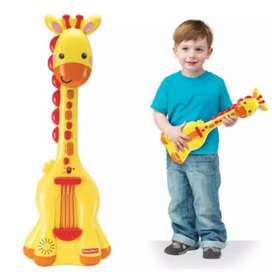 Guitarra Musical con Luces y Sonido FISHER PRICE (100% Original)