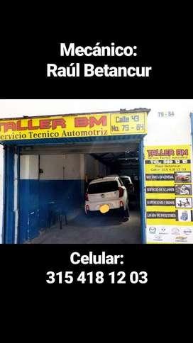 Taller Mecánica Automotriz en Medellín