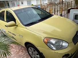 Taxi modelo 2011, Los Tolues.