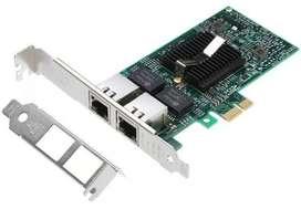 Intel 82575 Chip Dual 2 Rj45 Puerto Lan Gigabit Ethernet