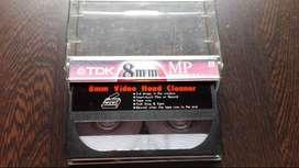 Cassette para limpiar video 8mm
