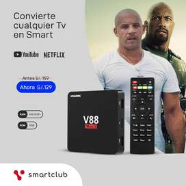 Tv  Box - Convierte tu TV en Smart TV