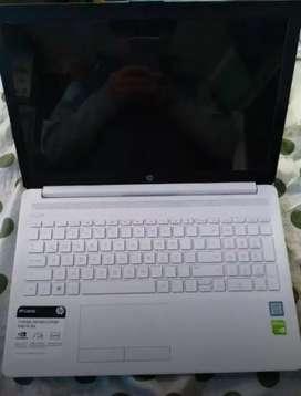 Por ocasión Ocasión! Vendo laptop HP Ci7 8va Gen.  10/10