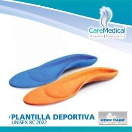 Plantillas Deportiva Unisex Bodycare Ortopedia Care Medical