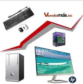 Computador 27 Pulgadas Cpu Hp I5 8va 8gb Optan 16gb Wifi 1tb