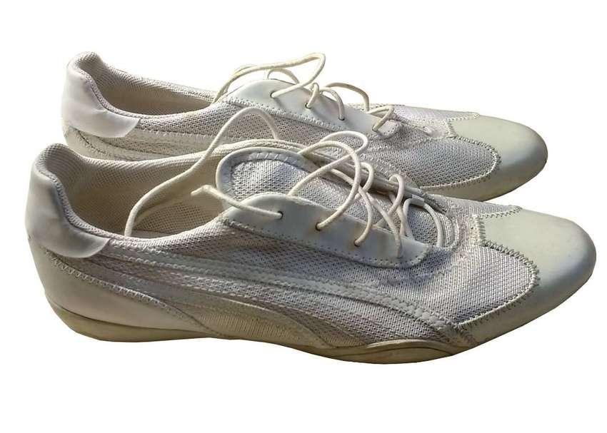 Zapatillas Puma Blancas 0