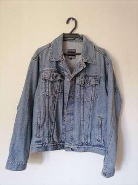 chaqueta de Jean clasico