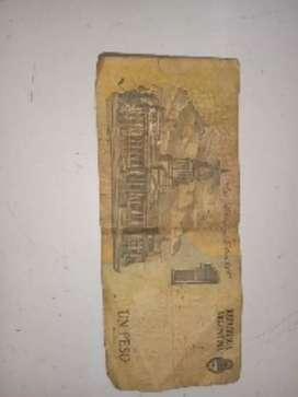 Vendo billete, fichas y monedas