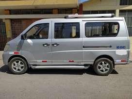 Minivan Changhe del 2012 gasolinero, motor 1300
