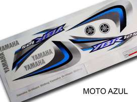 Kit de Calcos Original Yamaha YBR 125 ED