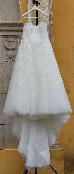 Vestido De Novia Pronovias Estilo Alcanar Blanco Natural