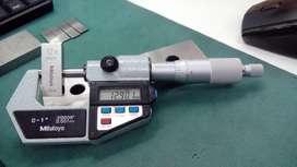 Micrometro de exterior digital 0 a 25 0.001 mm, Mitutoyo
