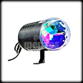 MINI PIN LED AUTO GIRATORIO 3D COLORES RGB